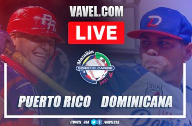 Resumen y Carreras: Puerto Rico 1 - 4 República Dominicana Final Serie del Caribe 2021