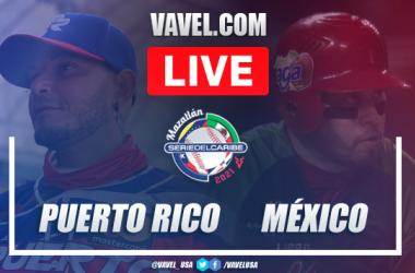 Resumen y carreras: Puerto Rico 6 - 4 México en Serie del Caribe 2021