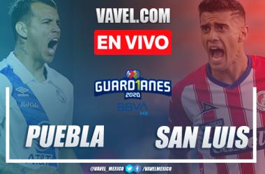 Resumen y Gol del Puebla 1-0 Atlético de San Luis en el Guard1anes 2020