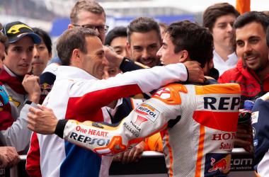 Alberto Puig: satisfacción con su equipo