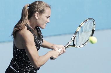 Porto-riquenha segue para a segunda rodada (Foto: Divulgação/WTA)