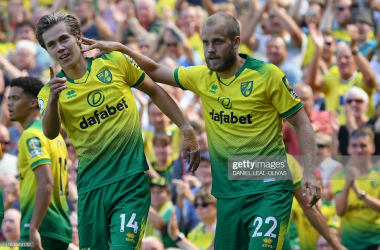 Cantwell and Pukki have scored three goals between them in the last two Norwich fixtures (Photo: Getty Images)