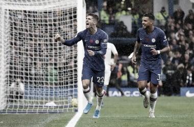 Chelsea domina, vence Crystal Palace e chega à vice-liderança da Premier League