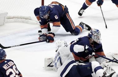 Los Islanders ganan en su casa y empatan la serie ante Tampa Bay | Foto: NHL.com