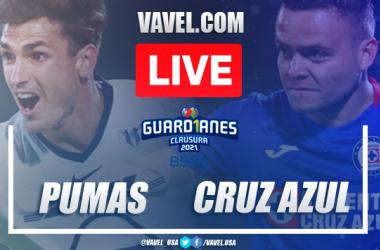 Goals andHighlightsof Pumas 0-1 Cruz Azul on Liga MX 2021