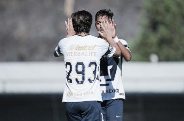 Celebración de la victoria ante el Monterrey // Foto: Liga MX Sub 20