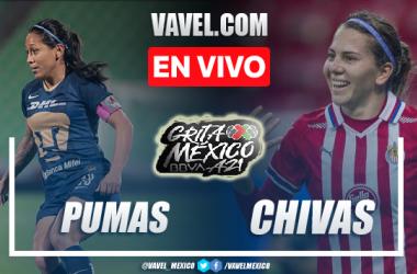 Gol y resumen del Pumas Femenil 1-0 Chivas Femenil en Liga MX Femenil