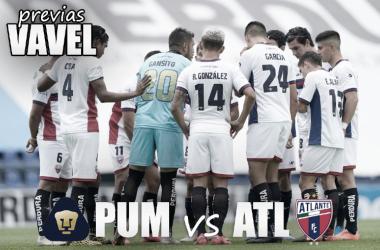 Previa Pumas Tabasco vs Atlante: mantener la inercia ganadora