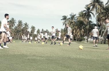 Pumas en los trabajos de preparación (Vía: Club Universidad)