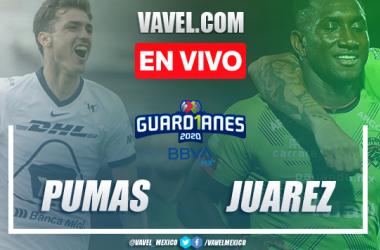 Goles y resumen del partidoPumas 1-1 Juárez en Liga MX Guard1anes 2020