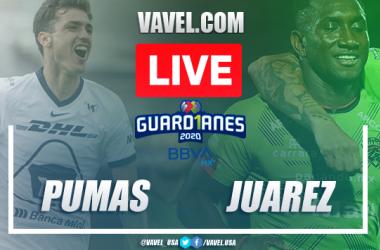 Goals and highlights: Pumas 1-1 Juárez in Guard1anes 2020 Liga MX