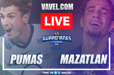 Goals and highlights: Pumas 3-0 Mazatlan in Liga MX Guard1anes 2021