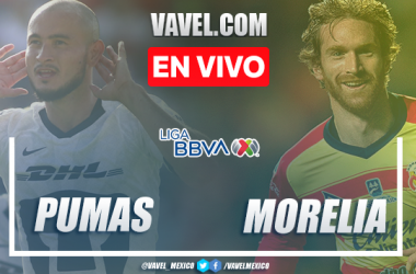 Goles y Resumen: Pumas 1-2 Morelia en Liga MX 2020
