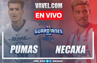 Goles y resumen: Pumas 1-1 Necaxa en Liga MX Guard1anes 2020