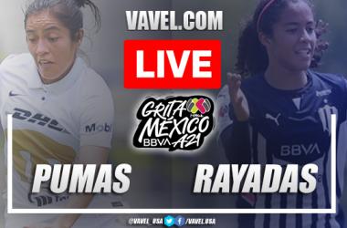 Pumas vs Rayadas Monterrey femenil LIVE: Score Updates (0-0)