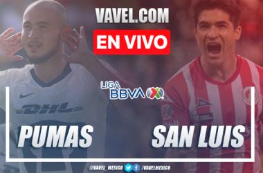 Resumen y goles: Pumas 4-0 Atlético San Luis en Liga MX Clausura 2020