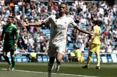 Mariano con el Real Madrid. Fuente: Real Madrid.