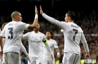 Real Madrid - AS Roma: puntuaciones Real Madrid, vuelta de 1/8 Champions League