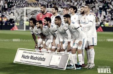 Puntuaciones de los madridistas en el encuentro Real Madrid 3 - 0 Las Palmas
