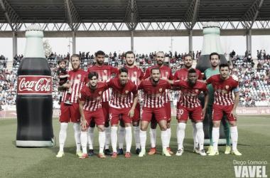 Once que puso en liza Luis Miguel Ramis ante el Sevilla Atlético. (FOTO: Diego Carmona - VAVEL)