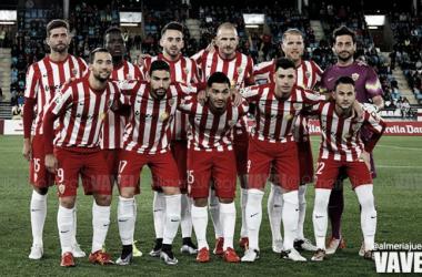 Almería - Córdoba: puntuaciones Almería, jornada 21 de la Liga Adelante (Foto: @almeriajuega - VAVEL).