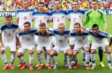 Bélgica - Rusia: puntuaciones de Rusia, jornada 2, grupo H