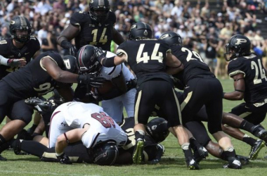 Purdue was not completely impressive on Saturday, but they got the win (Sandra Dukes / USA Today Sports)