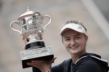 Barbora Krejcikova Foto Roland Garros
