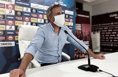 """Pusineri: """"El equipo volvió a demostrar su compromiso, siento que pudo haber ganado"""""""