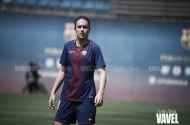 Alexia Putellas en un partido del FCB Femenino | Foto: Noelia Déniz, VAVEL.