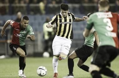 Qazaishvili (c) consiguió el gol del triunfo. (Foto: ProShots)