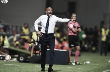 Comandante conheceu sua primeira derrota na estreia pela Internazionale (Foto: Divulgação/F.C Internazionale)