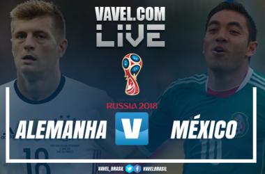 Resultado Alemanha x México na Copa do Mundo 2018 (0-1)