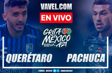 Resumen y goles: Querétaro 0-2 Pachuca en Liga MX 2021