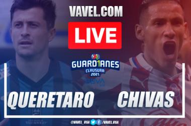 Goals and Highlights Queretaro 2-2 Chivas, 2021 Liga MX