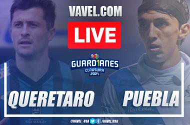 Goals and Highlights Queretaro 1-1 Puebla, 2021 Liga MX