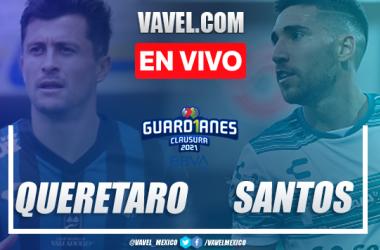 Resumen y Goles del Querétaro 1-0 Santos en la jornada 14 del Guard1anes 2021