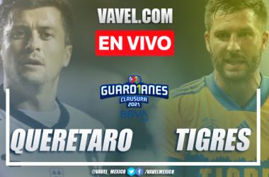 Goles y Resumen del Querétaro 0-1 Tigres en la jornada 13 del Guard1anes 2021