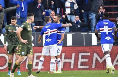 La Sampdoria demolisce il Brescia: 5-1 al Ferraris