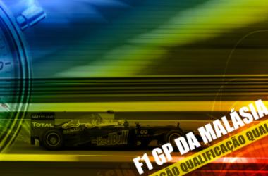 Qualificação GP da Malásia de F1, ao vivo e em direto online