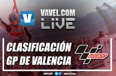 Resumen de la clasificación del GP Valencia de MotoGP: así lo vivimos