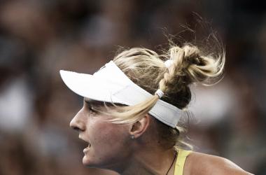 Yastremska superou dona da casa na primeira rodada (Foto: Divulgação/WTA)