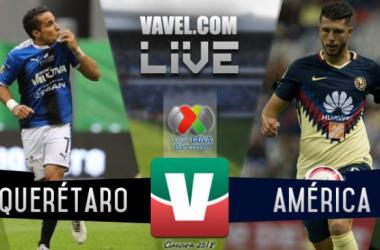 Querétaro vs América en vivo online en Liga MX 2017 (0-0)