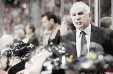 Longtime Chicago Blackhawks head coach Joel Quenneville was fired on Nov. 6. (Photo: Nam Y. Huh/Associated Press)