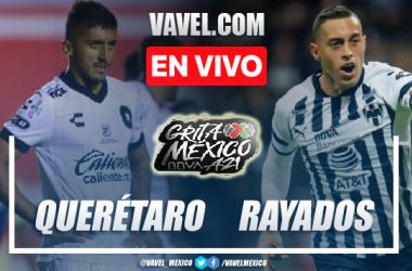 Gol y resumen del Querétaro 1-0 Rayados Monterrey en Liga MX 2021