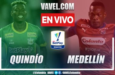 Resumen y gol: Quindío 1-0 Medellín en la fecha 11 por Liga BetPlay 2021-II