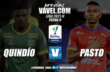 Previa: Deportes Quindío vs Deportivo Pasto: duelo de equipos motivados