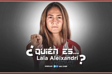 Laia Aleixandri: sonrisa, esfuerzo y talento en la zaga del Atlético Femenino