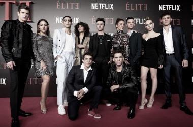 El casting de 'Élite'. Fuente: esquire.com