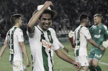 Quim Araujo celebra su gol (FOTO: Córdoba CF)